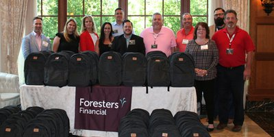 2019 Conference Foresters Backpack Finished