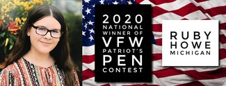 Ruby Howe Wins National VFW Contest