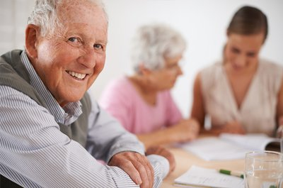 Senior Couple with Advisor